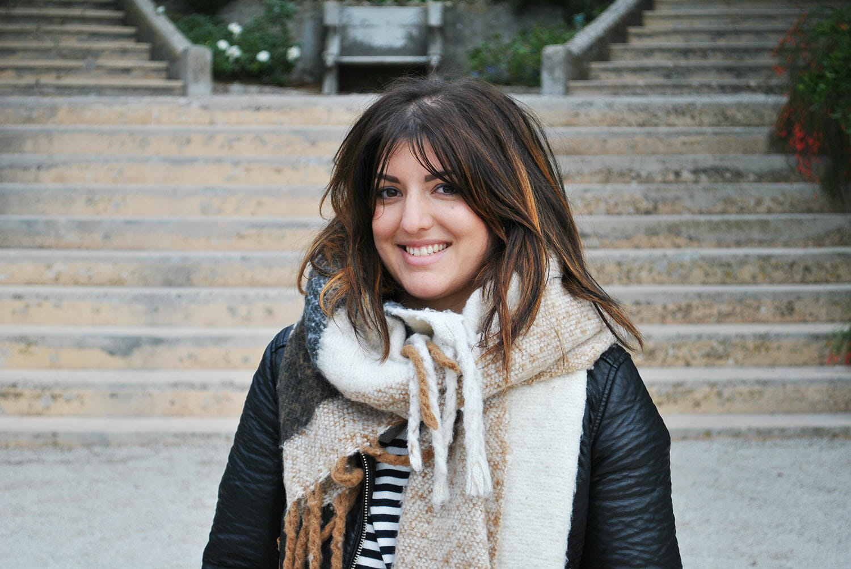 Portrait Une fille en Provence, Villa Rothschild