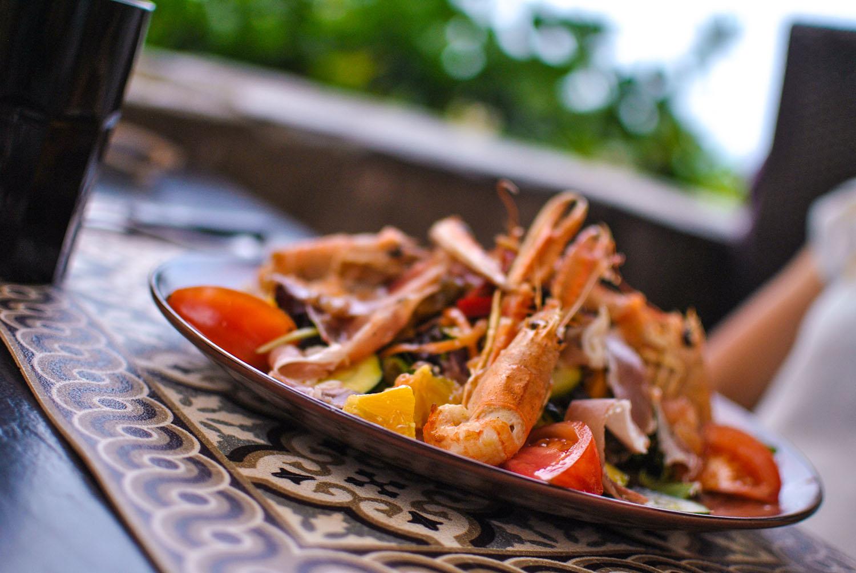 Salade de la mer du restaurant Chez Vincent à Bastia