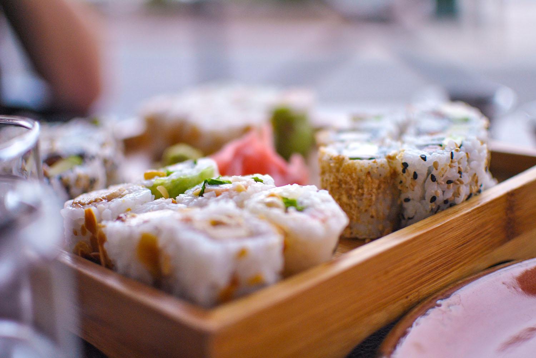 Plateau de sushis pour 2 personnes chez Karma Bastia