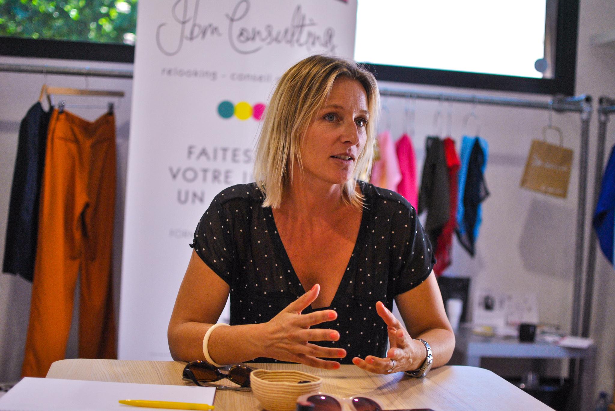 Julie JBM Consulting pour l'atelier image de soi & relooking sur Aix-en-Provence
