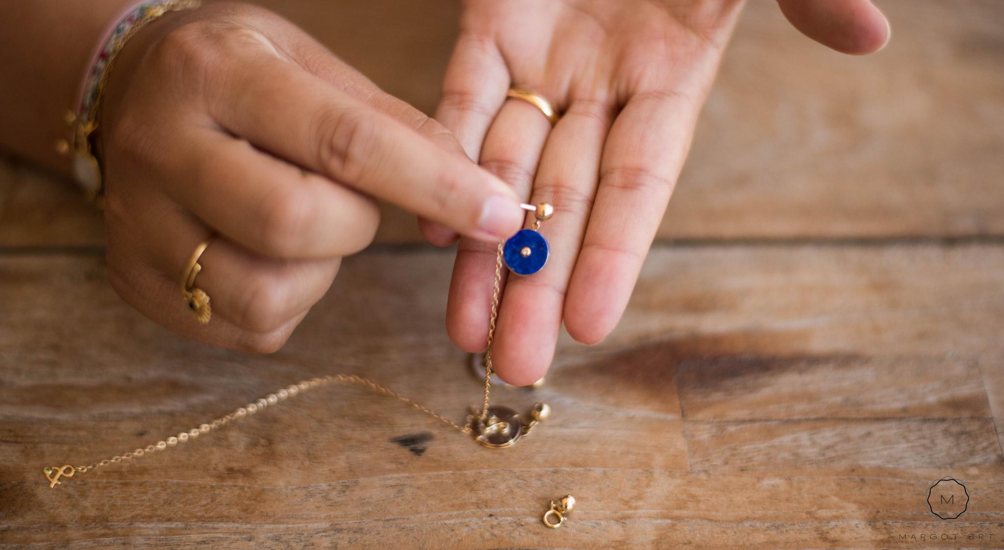 Montage Perle de réglage Mineral Joaillerie
