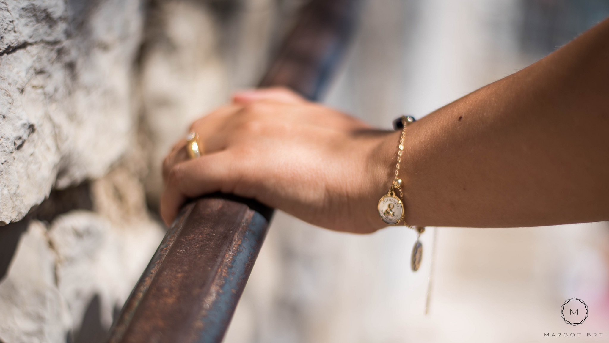 Bracelet mineral joaillerie