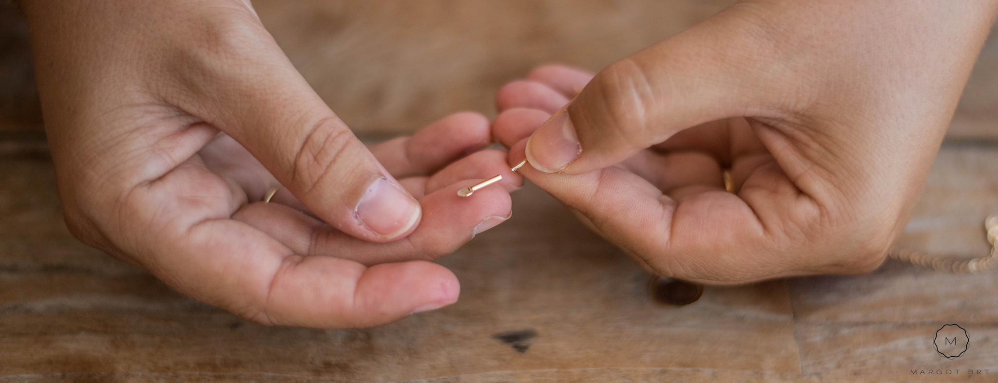 Montage du bracelet Mineral Joaillerie