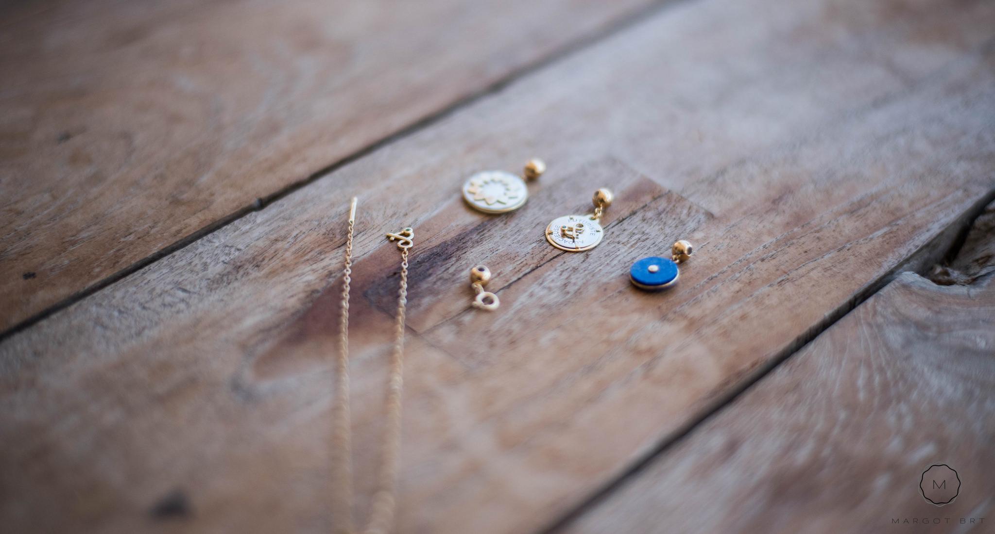 Talismans et bracelet Mineral Joaillerie