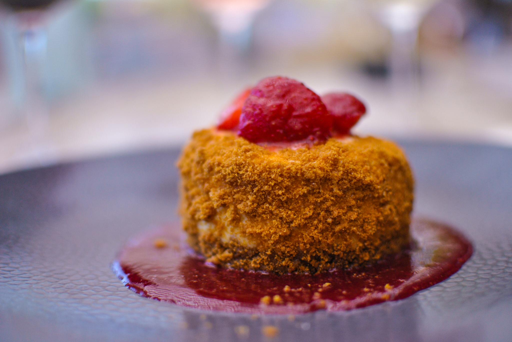 Hemingway Restaurant Repas  Dessert Framboise