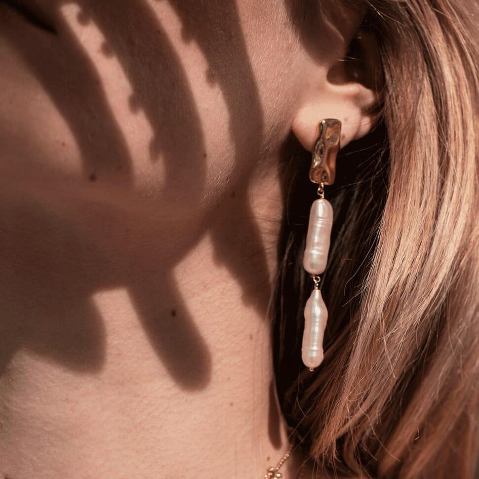 Boucle d'oreilles, Emma & Chloé, bijoux femme