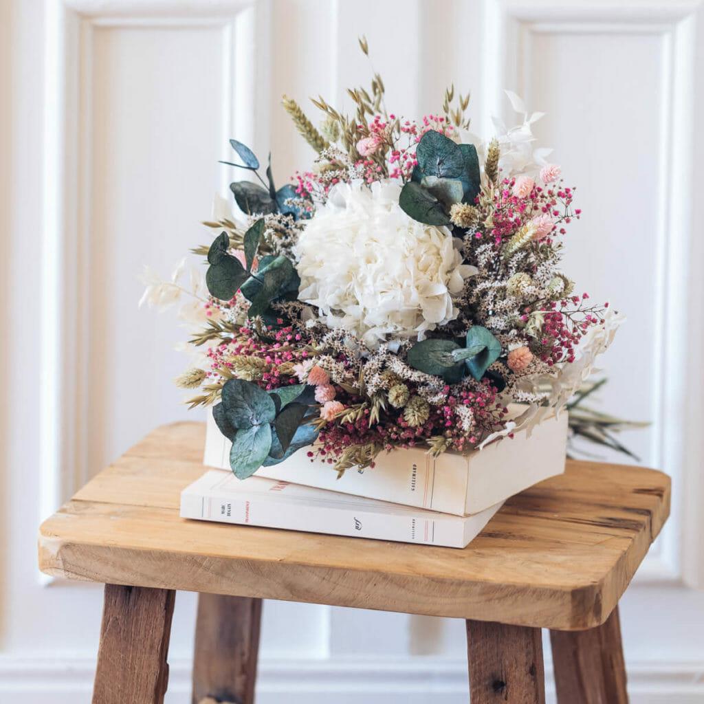 fleurs séchés, bouquet sécher