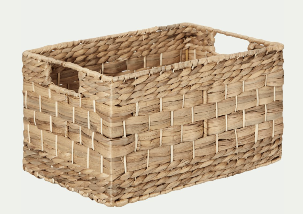 caisse de rangement naturel, caisse de rangement bois, caisse de rangement bureau