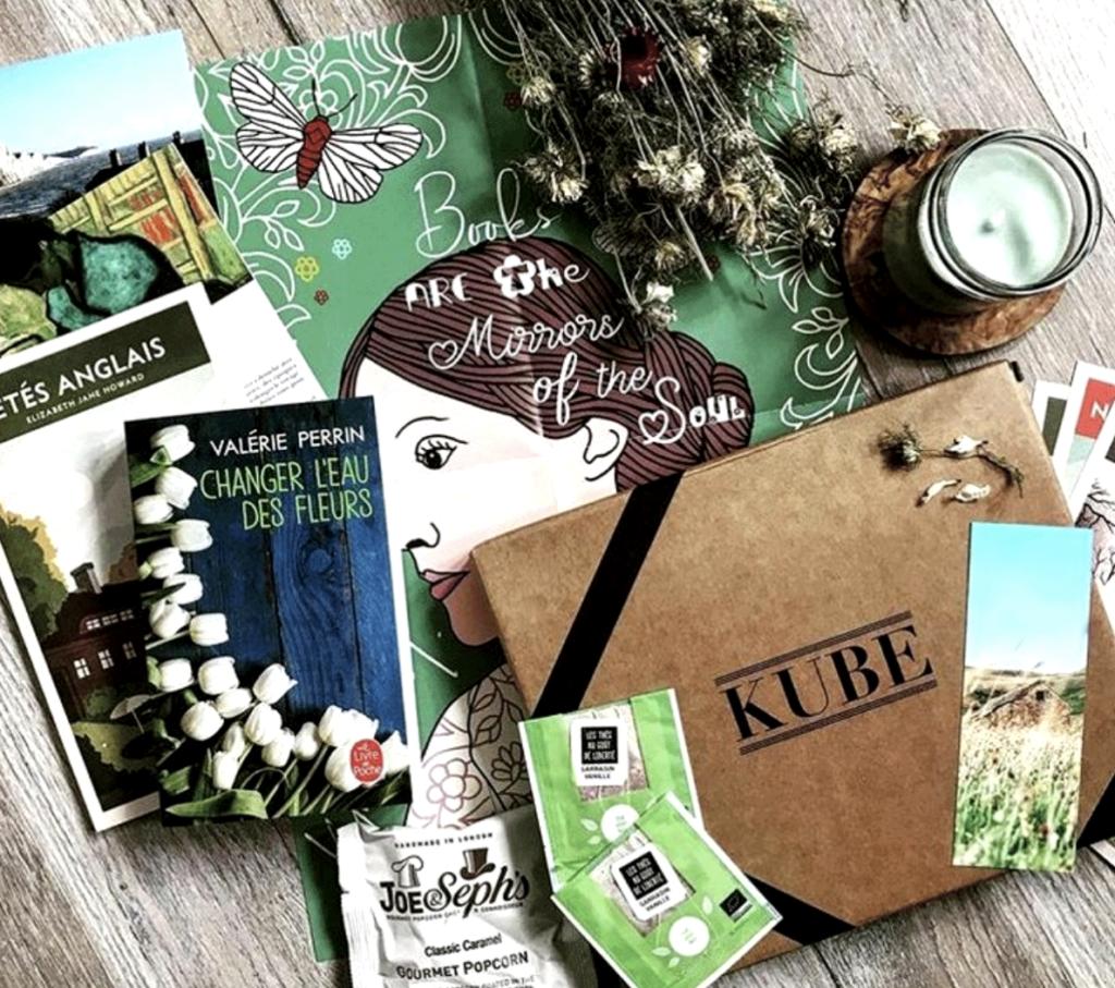 Kube box, box littéraire