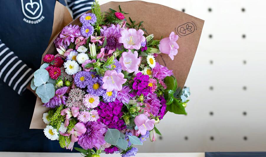 Monsieur marguerite, bouquet de fleurs, bouquets en livraison