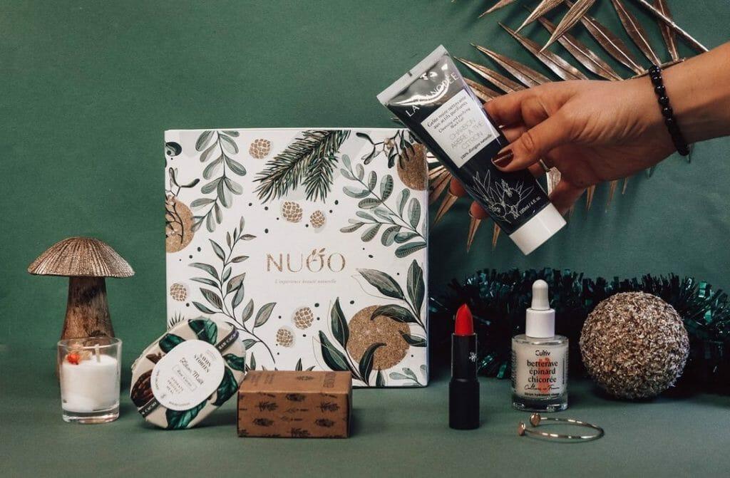 Nuoo box, box cosmétiques, cosmétiques bio,