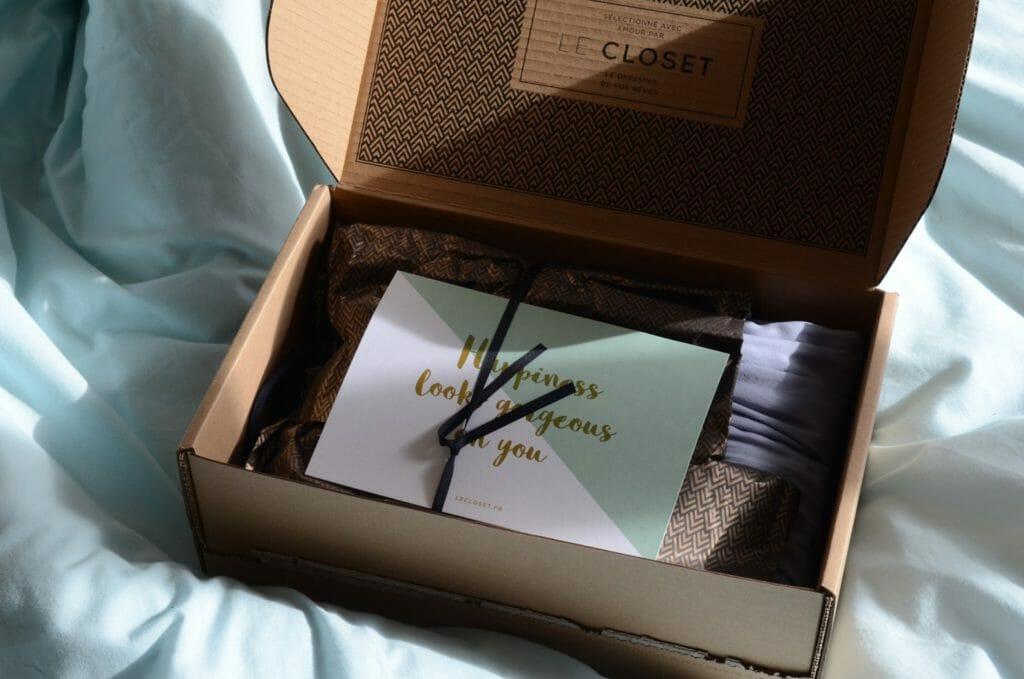 The closet, box pour femme, box vêtements pour femme