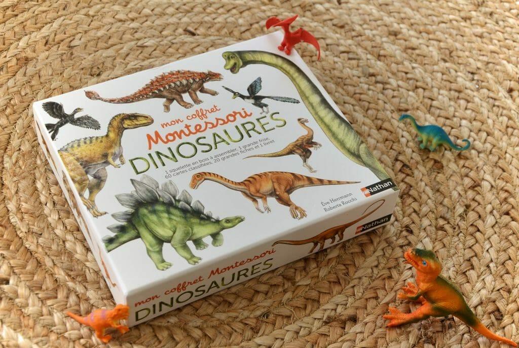 dinosaures, coffret dinosaures pour enfants