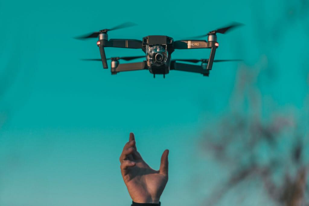 drone, video drone