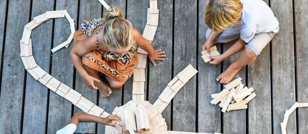 kapla, jeux en bois, jeu en bois pour enfants