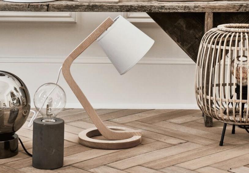 lampe épuré, lampe de bureau