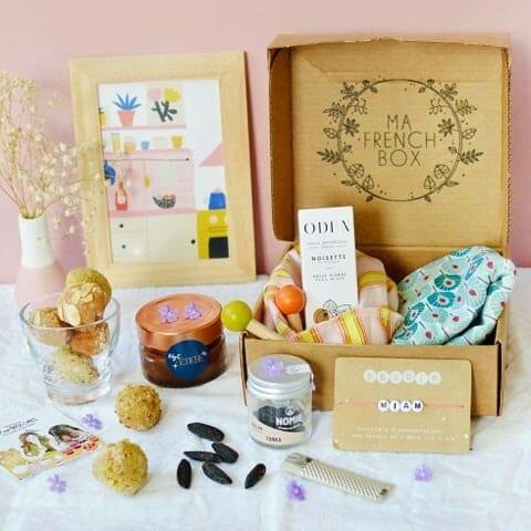Ma french box, cosmétique bio français, made in france, box femme