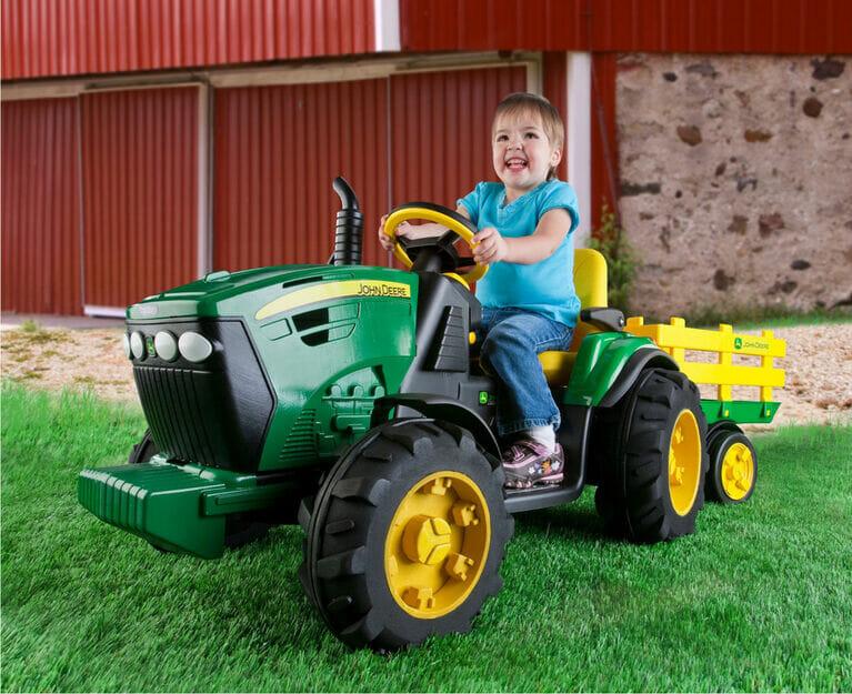 tracteur pour enfant, tracteur electrique