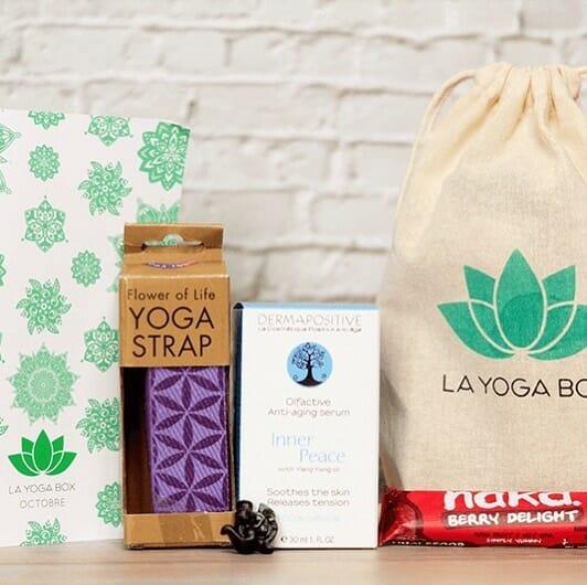 Yoga box, équipements de yoga, box mensuel yoga
