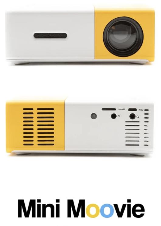 rétroprojecteur, projecteur de film, mini moovie
